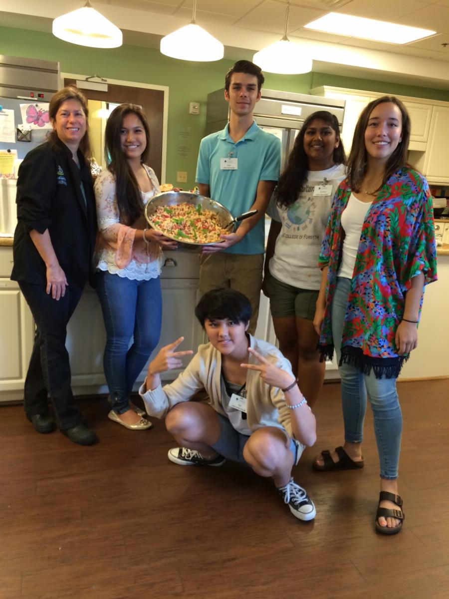 High School Cooking Class